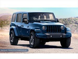 Así luciría la nueva generación del Jeep Wrangler