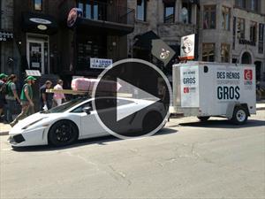 Video: un Lamborghini Gallardo de clase obrera