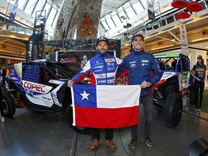 Chaleco Lopez vuelve al Dakar 2019 junto a Ignacio Casale en UTVs