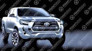 Anticipo del rediseño de la Toyota Hilux 2021