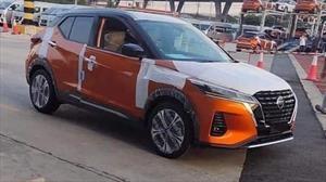 Facelift del Nissan Kicks anda rodando en Tailandia