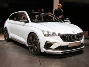 Skoda Vision RS Concept, un anticipo al futuro Rapid