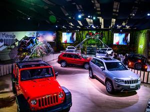 Chrysler en el Salón del Automóvil de Bogotá 2014