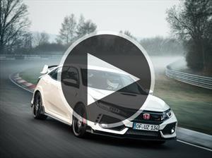 Honda Civic Type R, el tracción delantera más rápido de Nürburgring