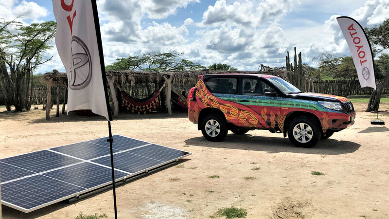 Toyota apoya a la comunidad Wayúu