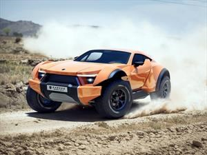 Zarooq SandRacer 500 GT, la cruza entre un buggy del Dakar y un supercar