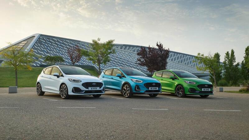 Ford refresca en Europa al Fiesta para 2022