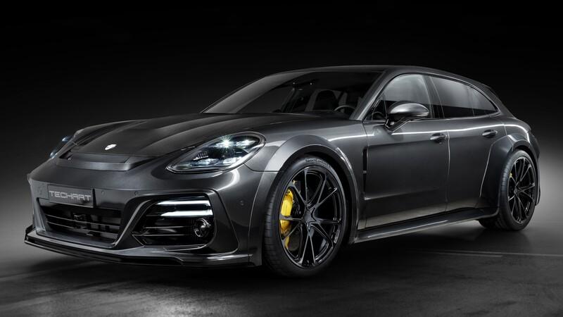 Porsche Panamera Sport Turismo por Techart gana más de 700 hp y una carrocería brutal