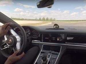 Así se vive un Hot lap a bordo del Porsche Panamera 4 E-Hybrid 2018