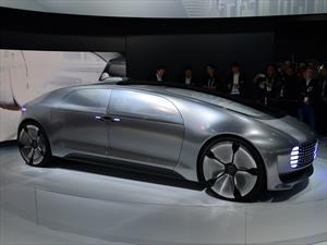 Mercedes-Benz F 015 Luxury in Motion hace su debut en el CES 2015