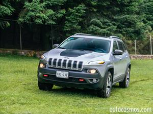 Jeep Cherokee Trailhawk 2014 a prueba