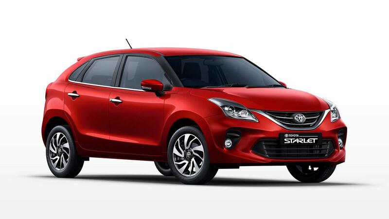 Toyota Starlet, es un Suzuki Baleno para el mercado africano