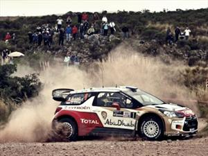 WRC: Sébastien Loeb pasó al frente del Rally de la Argentina