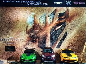Chevrolet estará presente en la próxima película de Transformers