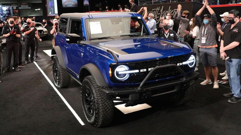 Ford Bronco 2022 No 1 es vendido en más de 20 millones de pesos