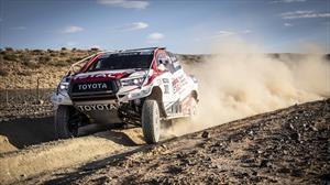 Fernando Alonso comienza a tomarse en serio el Dakar 2020