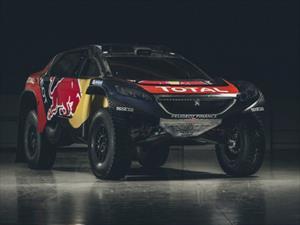 Peugeot 2008 DKR16 se presenta en su forma definitiva