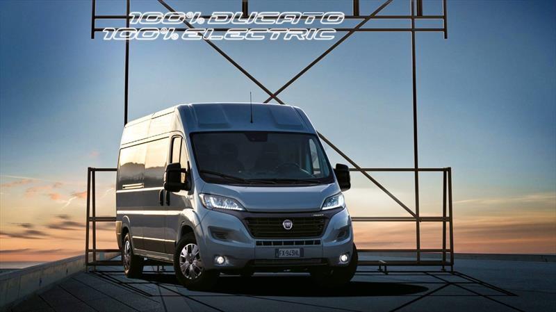 Fiat ya cuenta con un furgón 100% eléctrico