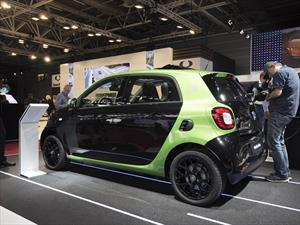 smart fortwo y forfour electric drive 2017 debutan