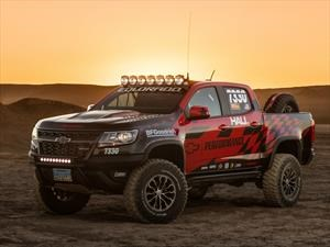 Chevrolet Colorado ZR2 por Hall Racing, lista para competir
