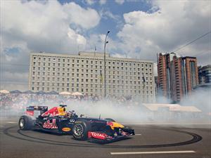 Un Red Bull suelto en Buenos Aires