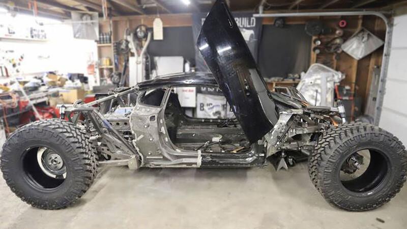 Video: así se convierte un Lamborghini Huracán en un monstruo 4x4
