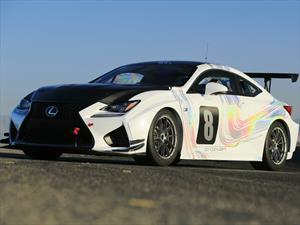Lexus RC F GT Concept cormpetirá en Pikes Peak 2015