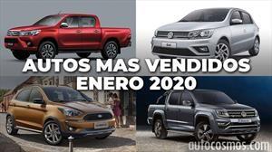 Los 10 autos más vendidos en Argentina en enero de 2020