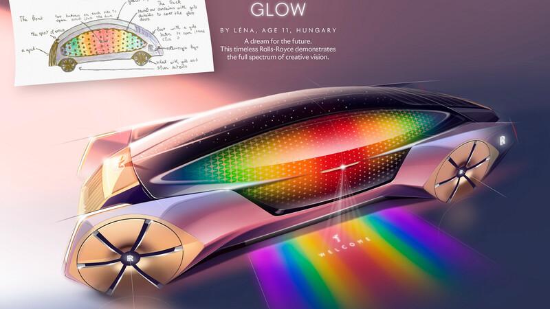 Rolls-Royce premia a niños en concurso de diseño