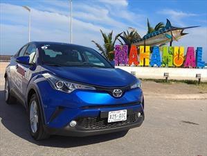 Primer contacto con el Toyota C-HR 2018