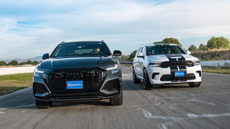 Dodge Durango Hellcat vs Audi RS Q8, la visión de EU y Alemania sobre la SUV deportiva