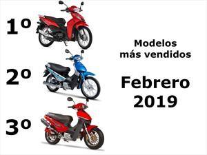 Top 10: Los modelos de motos más vendidos en febrero 2019