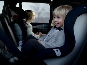 Volvo desarrolla nuevas sillas de auto para niños