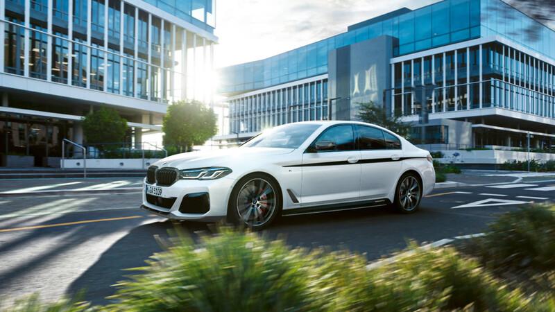 El nuevo BMW Serie 5 2021 también podrá personalizarse con accesorios M Performance