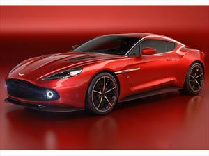Aston Martin Vanquish Zagato Concept, simplemente bellísimo