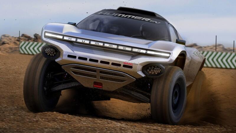 GMC anuncia su participación en el Extreme E por medio del Hummer EV