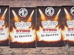 Morris Garages patrocinará eventos musicales