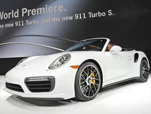 Porsche 911 Turbo y 911 Turbo S 2017 debutan en el NAIAS 2016