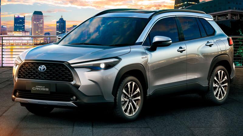 Toyota Corolla Cross 2021, el SUV que viene a Argentina