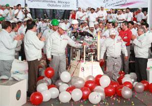 Nissan produce el motor ocho millones en México