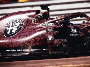 Alfa Romeo Racing prueba su monoplaza para la temporada 2019