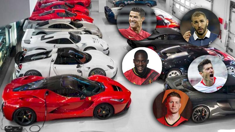 Y a propósito de la Eurocopa de Naciones, ¿qué autos eligen las estrellas del fútbol europeo?
