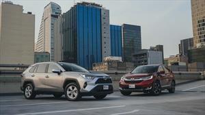 Comparativo Honda CR-V vs Toyota RAV-4 en México