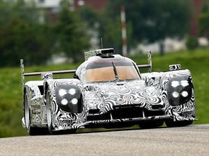 Porsche presenta imágenes del prototipo para competir en Le Mans 2014