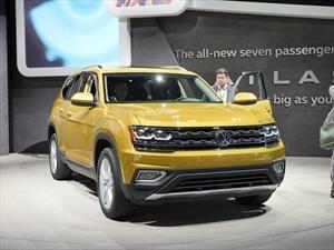 Volkswagen Atlas 2017, creada para conquistar Norteamérica