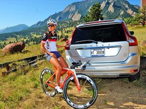 Volvo auspicia a triatleta nacional Valentina Carvallo