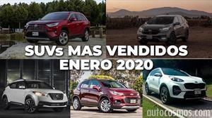 Los 10 SUVs más vendidos en enero 2020