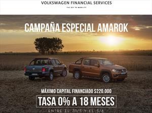 Volskwagen presenta plan de financiación para la Amarok