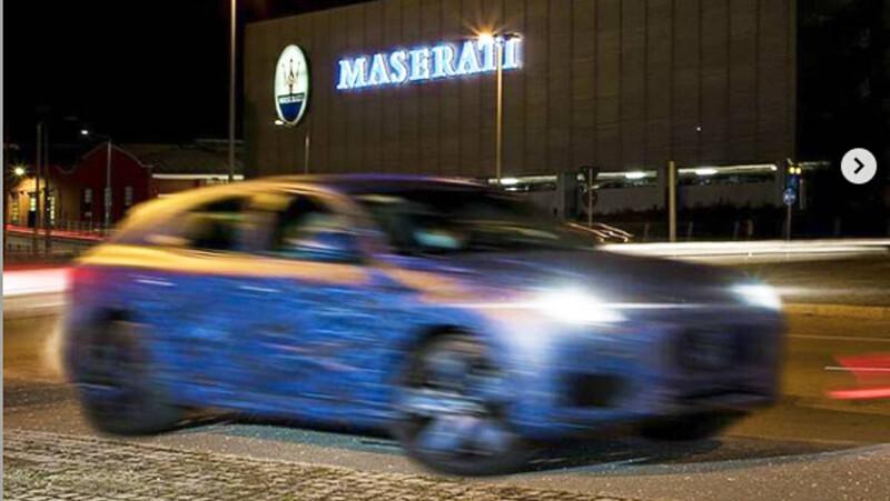 Maserati Grecale comienza a destaparse