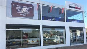 Nueva vitrina de vehículos usados multimarca en Bogotá